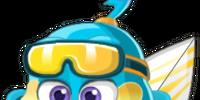 Surfer Penguin