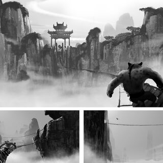Sequence concept art by Maxwell Boas