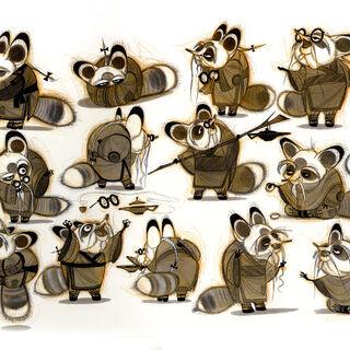 Concept artwork of Shifu by Nicolas Marlet