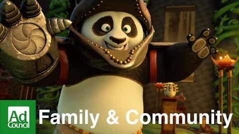 Kung Fu Panda 3 Fatherhood Involvement Ad Council