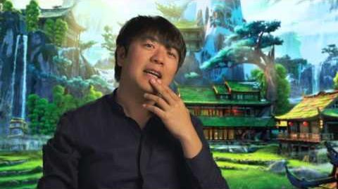 Kung Fu Panda 3 Pianist Interview - Lang Lang
