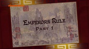 KFP LoA S03E20 Emperors Rule part 1 title