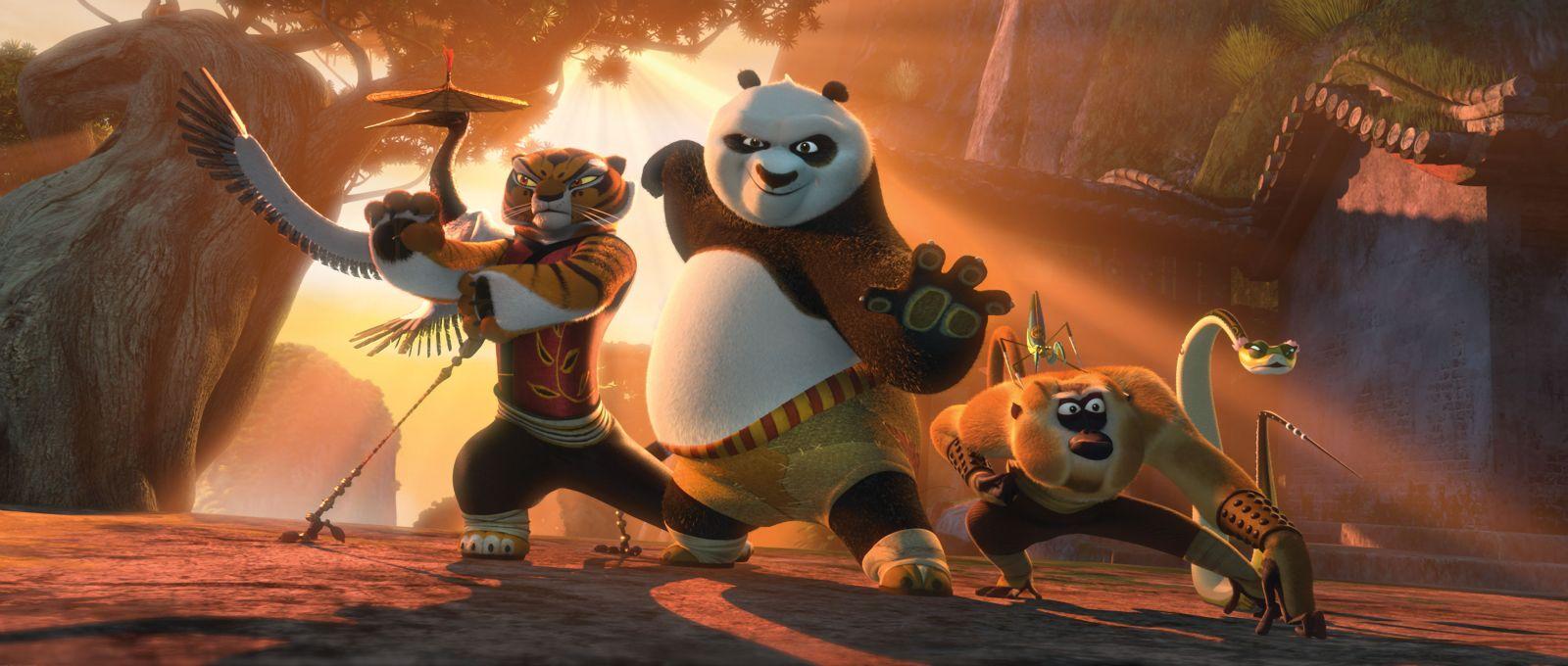 Kung Fu Panda Characters Names