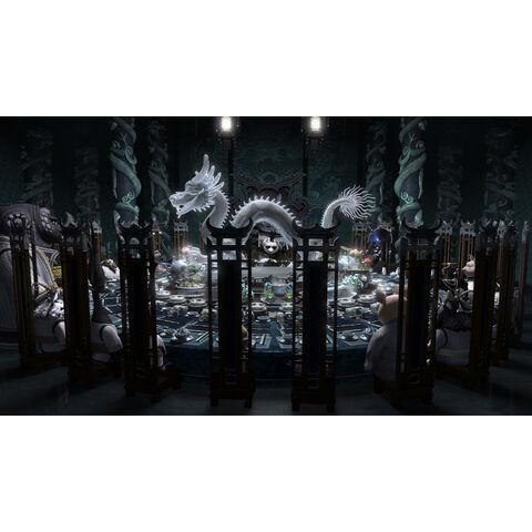 Los Maestros Kung Fu tienen una fiesta de invierno oficial en el Palacio de Jade