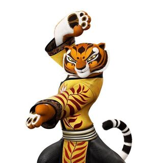 Tigress' gold-colored attire as featured in <i><a href=