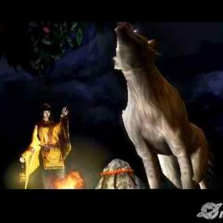 Sakuya summons Saiga.
