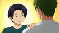 Takao and Midorima after practice anime.png