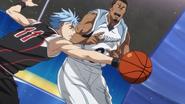 Kuroko steals the ball Zone