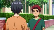Kagami meets Himuro anime