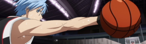 Kuroko steals the ball anime