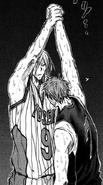 Murasakibara helps Kiyoshi up