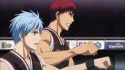 Kuroko and Kagami bumping fists.png