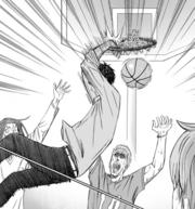 Aomine final basket