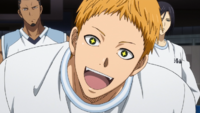 Hayama spazzes out before the match.png