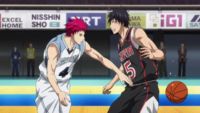 Akashi steals the ball from Izuki