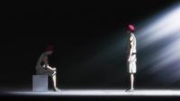 The real Akashi deep inside his consciousness