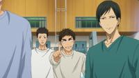 Moriyama and Hayakawa training