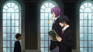 Himuro and Murasakibara at Yosen High