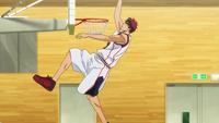 Kagami jumps too high