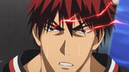 Kagami enters the Zone