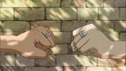 Kagami and Himuro as brothers