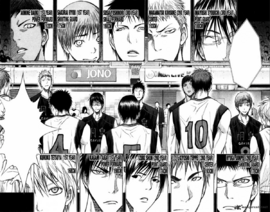 Seirin High vs Too High WC