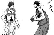 Akashi faces Midorima's new skill