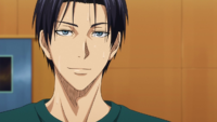 Takao talks to Midorima after practice anime.png