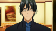 Mitobe with glasses