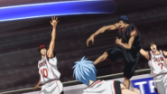 Aomine shoots in Zone