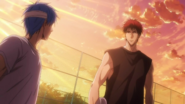 Kuroko and Kagami anime