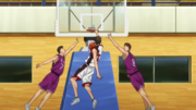 Kiyoshi dunks on Torimura High