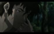 Kuromitsu Touches Kuro's Face