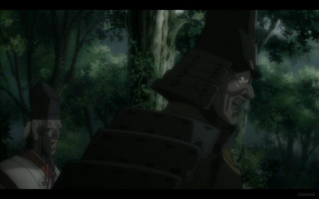 File:Man With Black Armor Points Out Kuro's Approach.png
