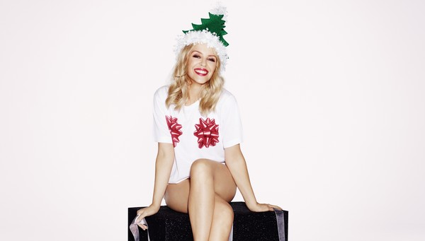 Kylie Christmas photoshoot 1