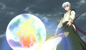 Ep 18 Kain with life flame