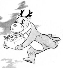Reindeer Ghost