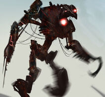 Vampire robot by HaitisWorst