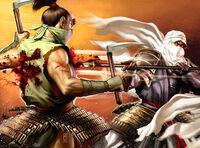 Michio fighting