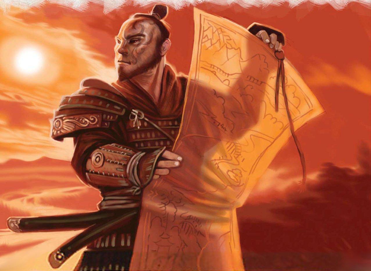 Toturi III Seeking Enlightenment