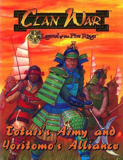 Toturi's Army and Yoritomo's Alliance