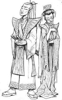 Hachi and Kujiko