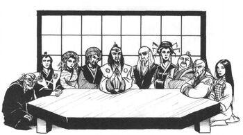 The Ten Kolat Masters