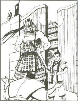 Agasha Ryuden Arrives at Shiro Heichi
