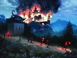 Fall of Kyuden Bayushi