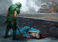 Gukochi wins a duel