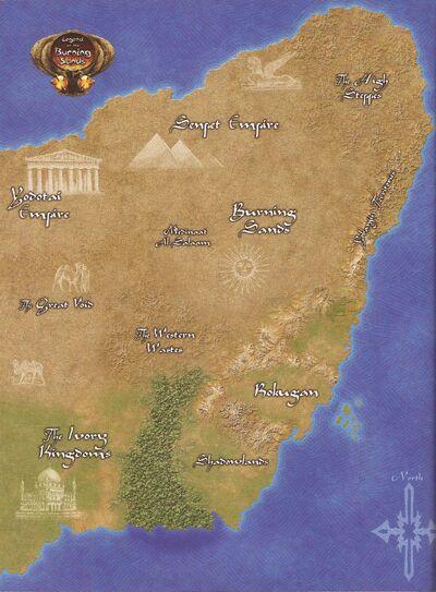 Lands beyond Rokugan