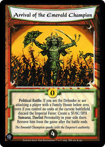 File:Arrival of the Emerald Champion-card2.jpg