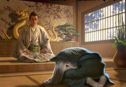 Dainagon becomes the Turquoise envoy to Iweko II