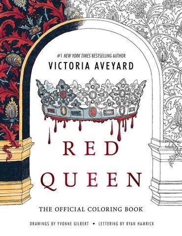Archivo:Portada Oficial del libro para colorear de La Reina Roja.jpg